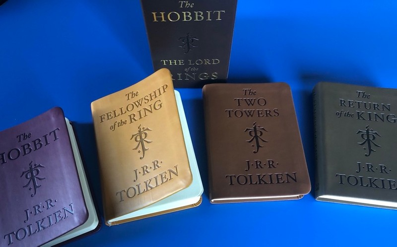 Immersive reading, The hobbit and The lord of the Rings